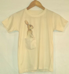 Kids rabbit pocket tee